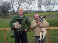 Clinibed 24/7 proves an excellent aid at lambing time