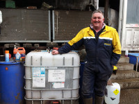 Image of Colin Ballantyne with an IBC of Priodine